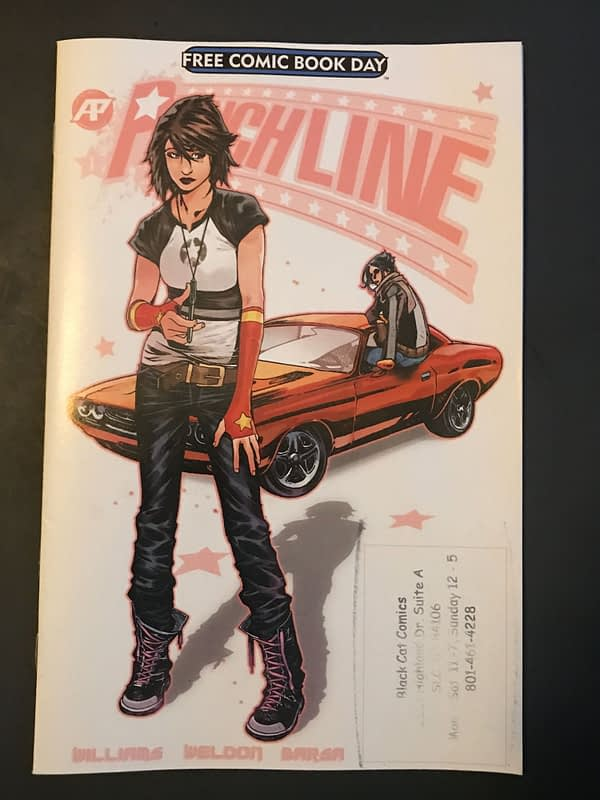BC FCBD Roundup: 'Punchline' Takes Flight in Origin Story