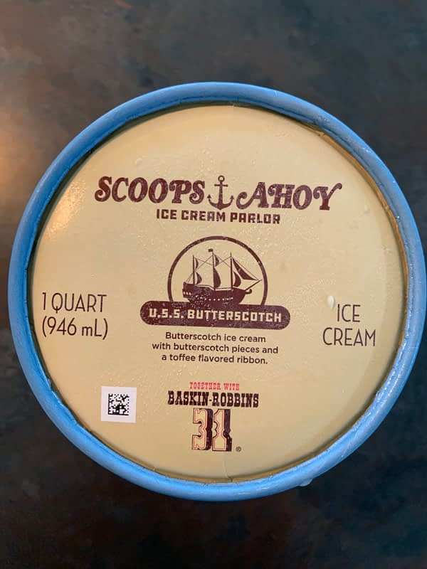 Stranger Things U.S.S. Butterscotch Ice Cream Available at Baskin Robbins