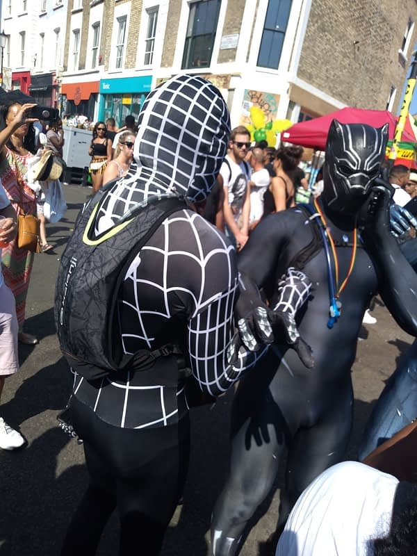 A Little Cosplay at Notting Hill Carnival 2019