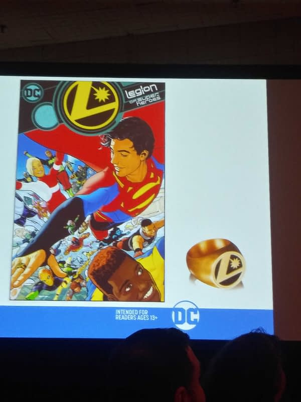 First Look at Those Legion Flight Rings for Legion of Super-Heroes Launch