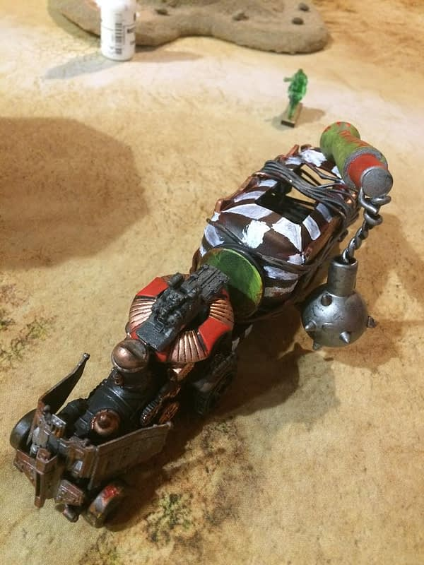 """Gaslands"" - War Rig vs Highway Patrol Battle Report"