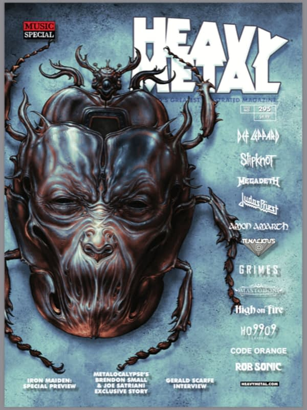 The Heavy Metal Magazine Exclusives and Signings of New York
