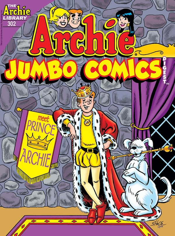 Archie Comics Send Prince Archie to London...