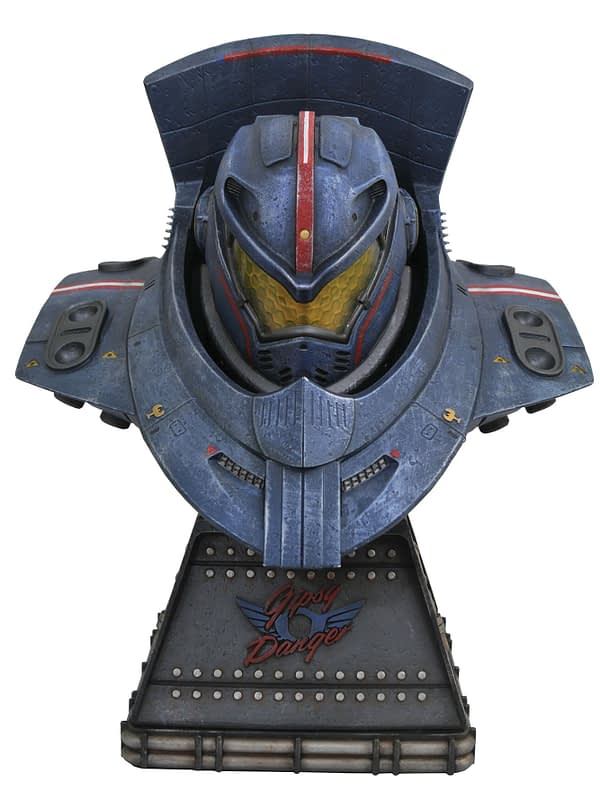 Pacific Rim Gypsy Danger Bust 1