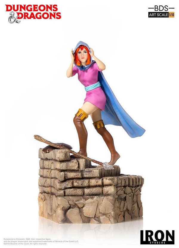 Dungeons and Dragons Cartoon Sheila Statue