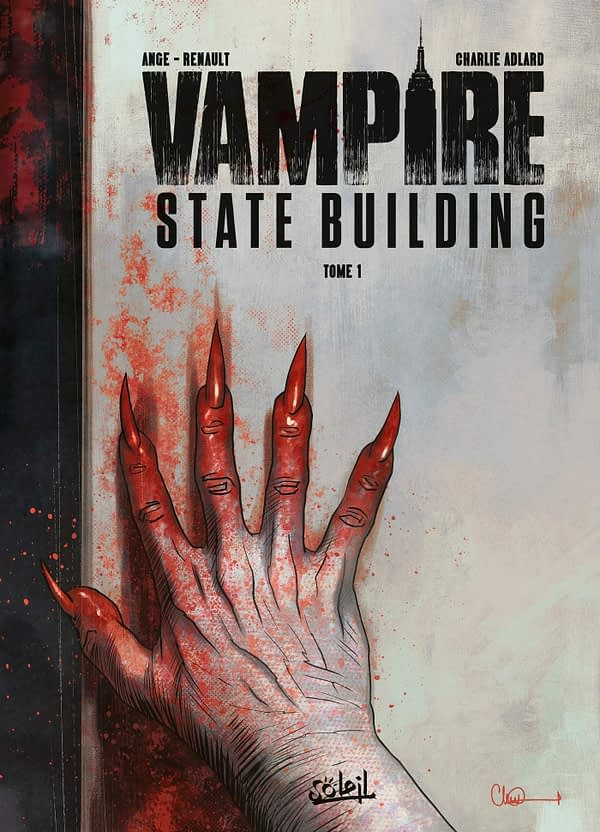 Charlie Adlard's Vampire State Building Has Just Been Published - Here's a Peek