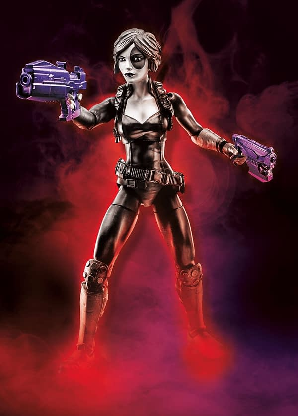 Domino Deadpool Marvel Legends