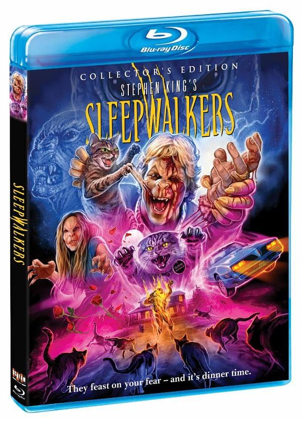 Scream Factory Sleepwalkers Blu Ray Cover