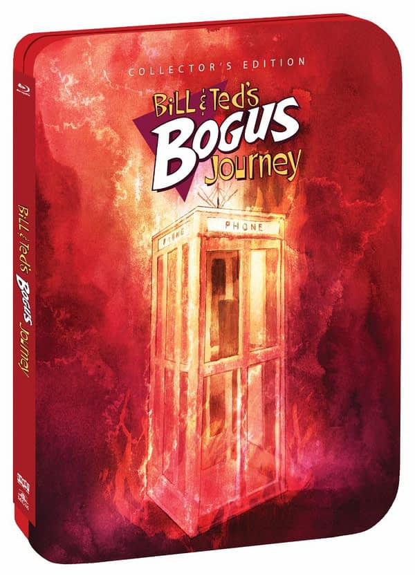 Shout Factory BIll and Teds Bogus Journey Steelbook