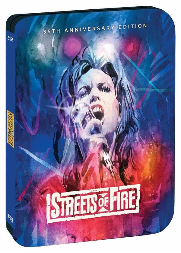 Shout Factory Streets of Fire Steelbook