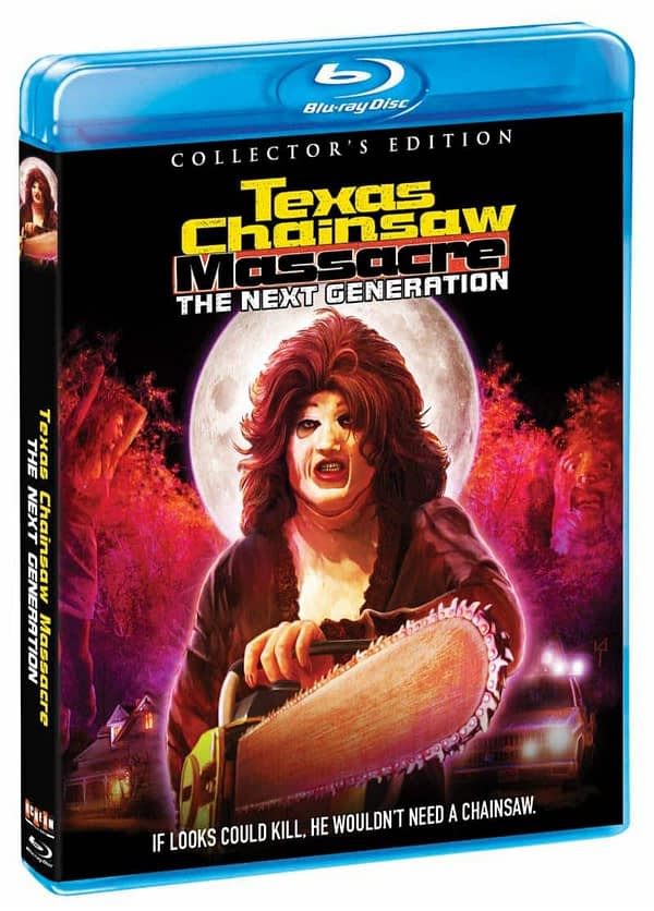 Scream Factory Texas Chainsaw Massacre Next Generation Cover
