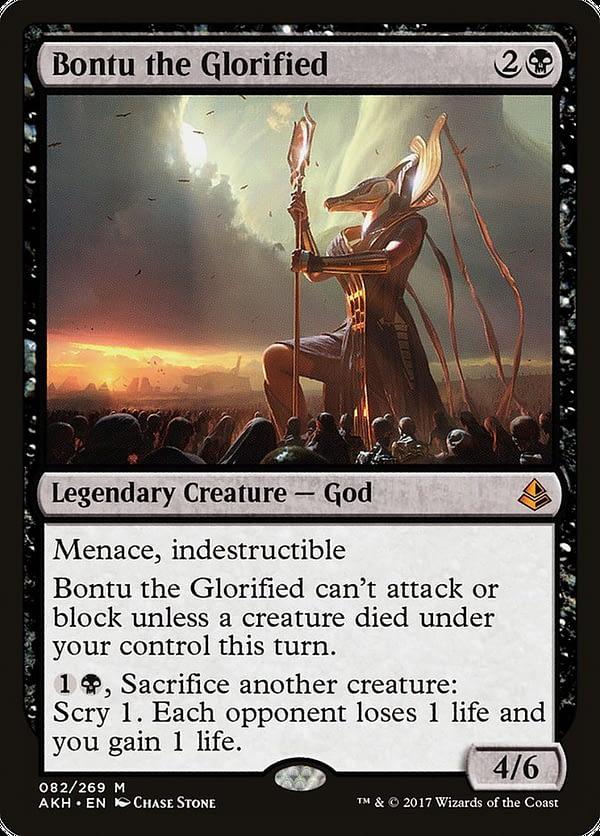 """Bontu the Glorified"" Deck Tech - ""Magic: The Gathering"""