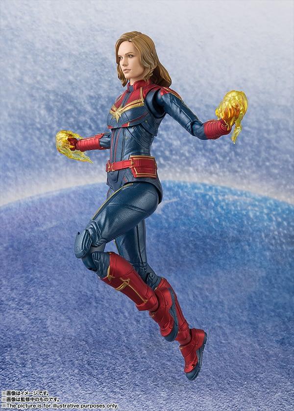 Sh Figuarts Captain Marvel 1