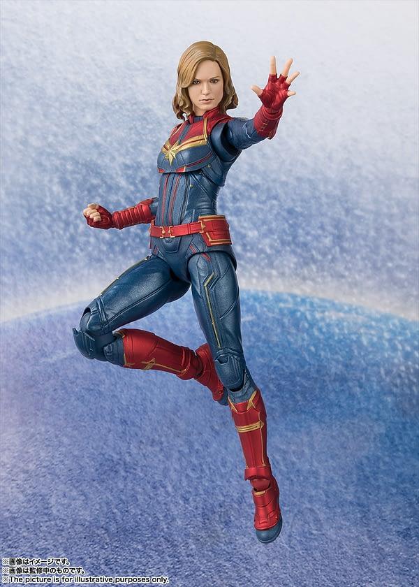 Sh Figuarts Captain Marvel 2