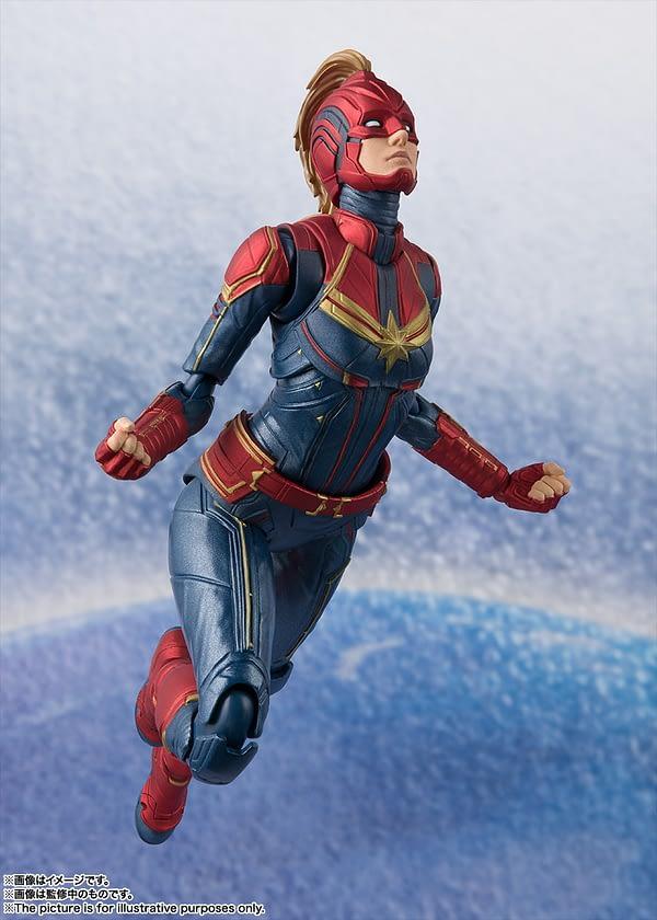 Sh Figuarts Captain Marvel 3