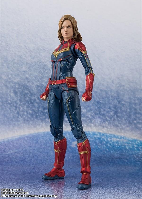 Sh Figuarts Captain Marvel 7