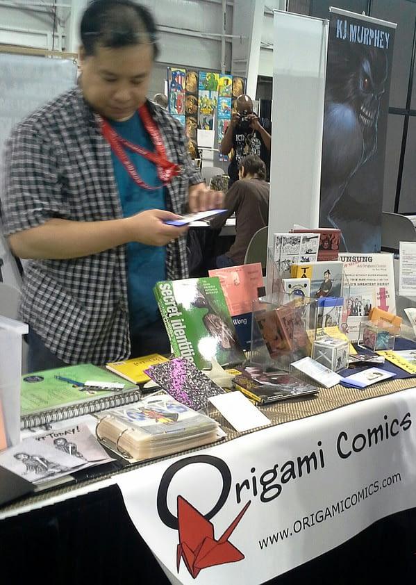 ORIGAMI COMICS