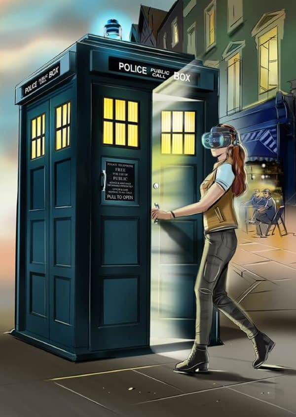 "The ""Doctor Who"" TARDIS Comes To The VIVE Cosmos"