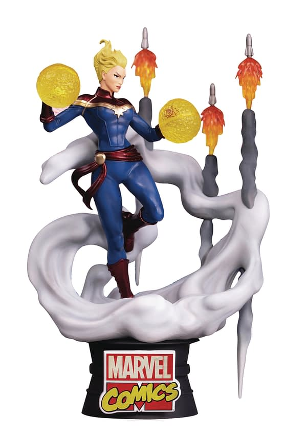 Four New Beast Kingdom Marvel and Toy Sotry D-Stage Statues Up For Order
