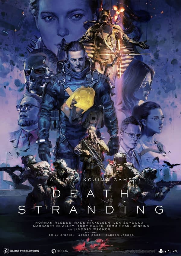 """Death Stranding"" Receives A New Briefing Video At Tokyo Game Show"