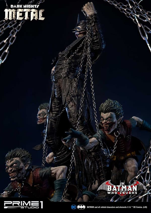 Dark Knights Metal Batman Who Laughs Prime 1 Studio Statue 5