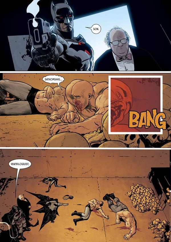 Did Tom King Just Kill Off Kite-Man in Batman #84? Hell Yeah....