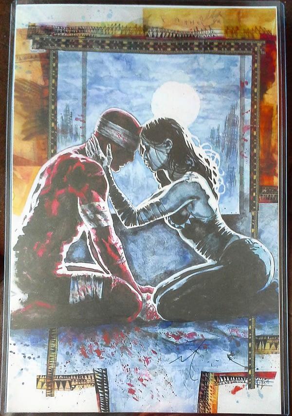 Daredevil & Echo by David Mack