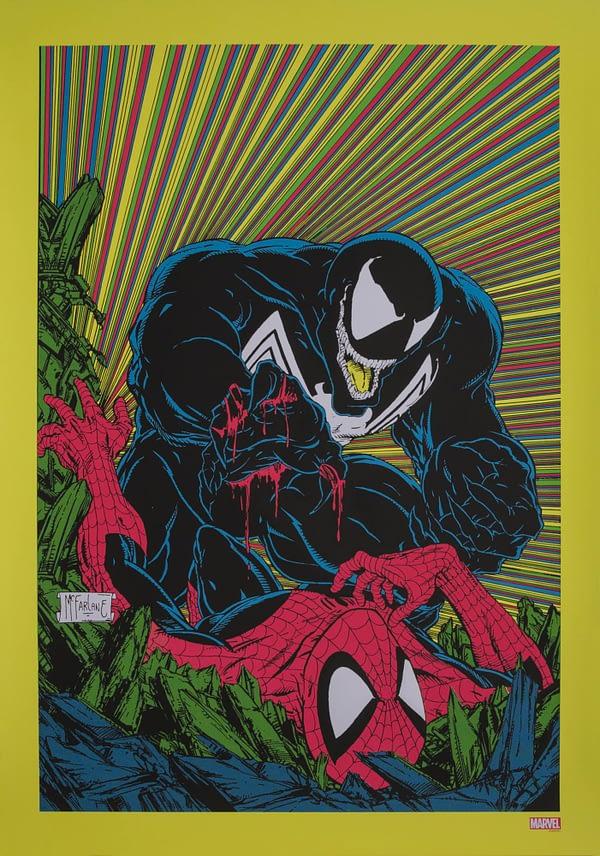 Venom Stance McFarlane Poster NYCC 11