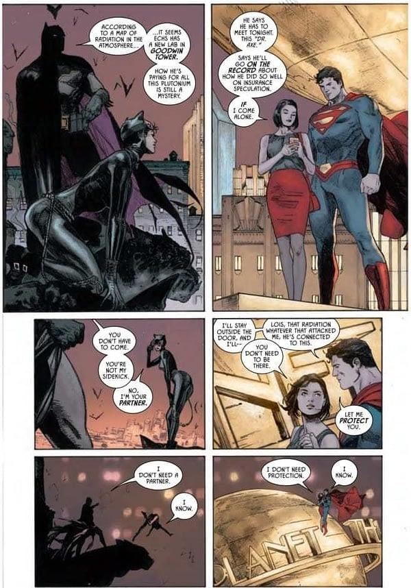 Batman #36 art by Clay Mann, Seth Mann, and Jordie Bellaire