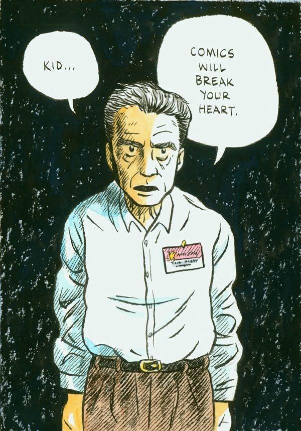 Jack Kirby by Dylan Horrocks