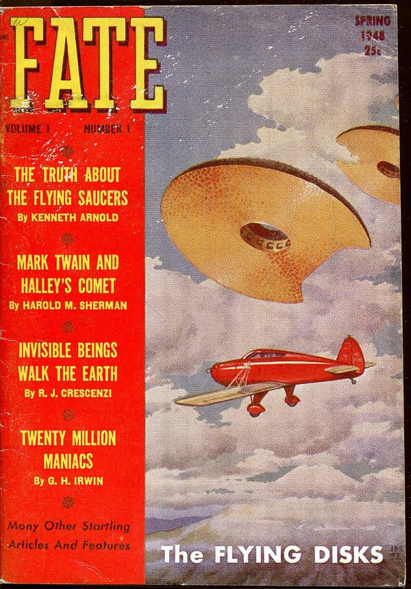 In the wake of Roswell, Palmer's Fate Magazine was launched to cover such events