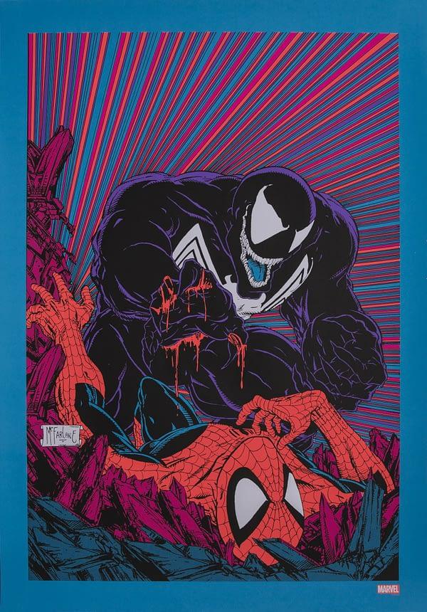Venom Stance McFarlane Poster NYCC 1