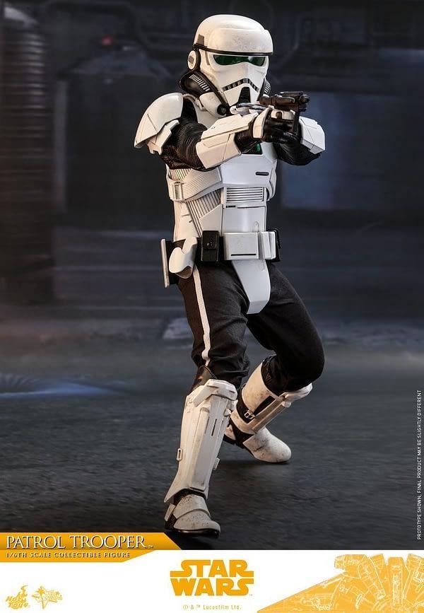 Hot Toys Solo Patrol Trooper 6