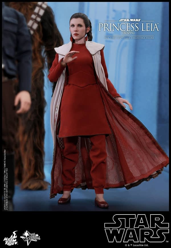 Hot Toys Bespin Gown Princess Leia 14