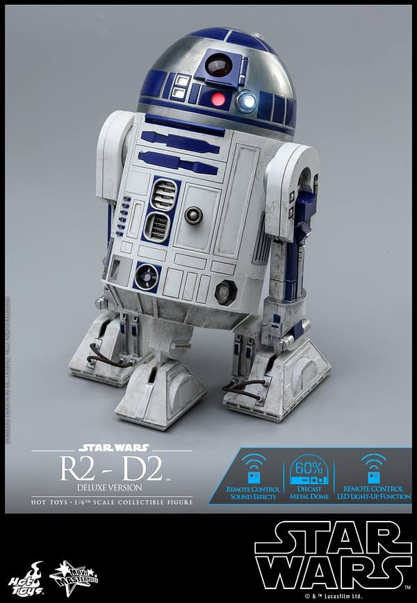 Star Wars Hot Toys R2 D2 Deluxe 10
