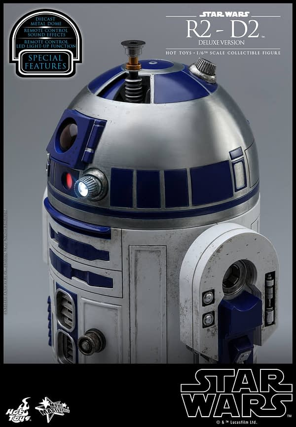 Star Wars Hot Toys R2 D2 Deluxe 11