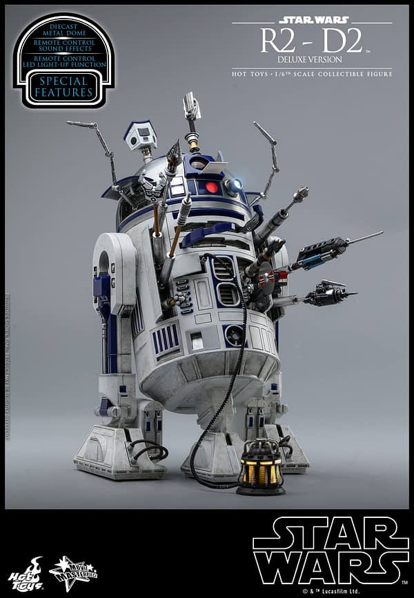 Star Wars Hot Toys R2 D2 Deluxe 7