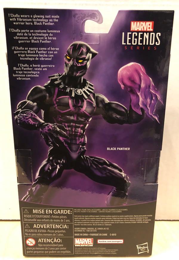 Black Panther Marvel Legends Walmart Exclusive 2
