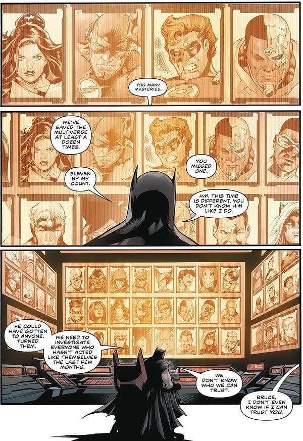 Joshua Williamson's Teasers For Superman/Batman Comic