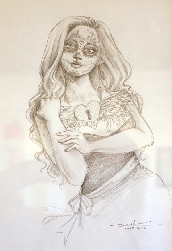 Beautiful Dead Sketch