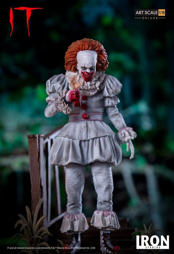 Pennywise Iron Studios Deluxe Edition 4
