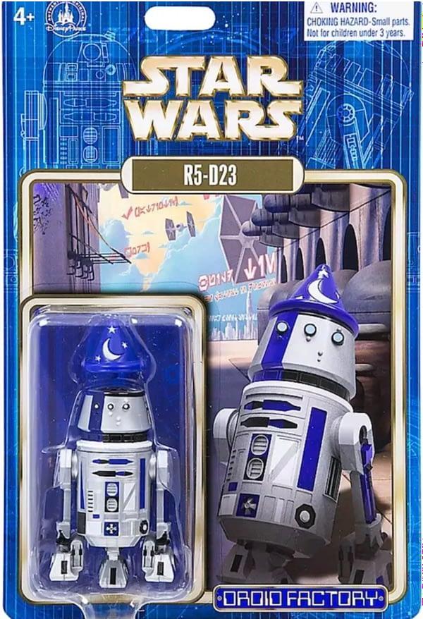 D23 Build A Droid R5-D23 Figure Exclusive