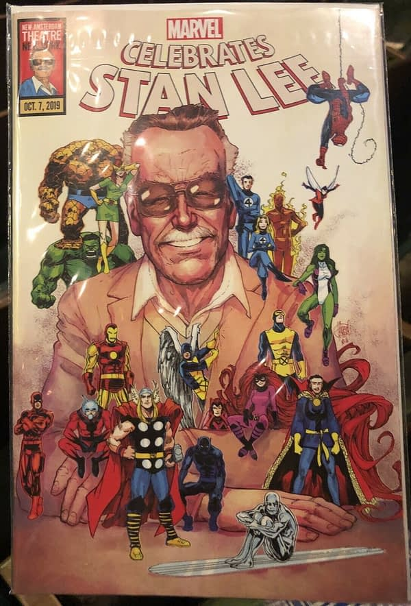 Stan Lee Tribute Comic Book From Last Night About to Sell For Over $300 on eBay