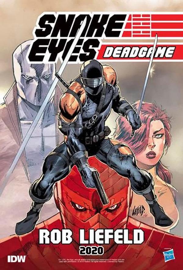 Snake Eyes GI Joe Rob Liefeld