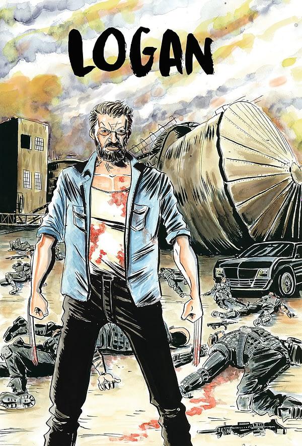 Jeff Lemire Logan Poster