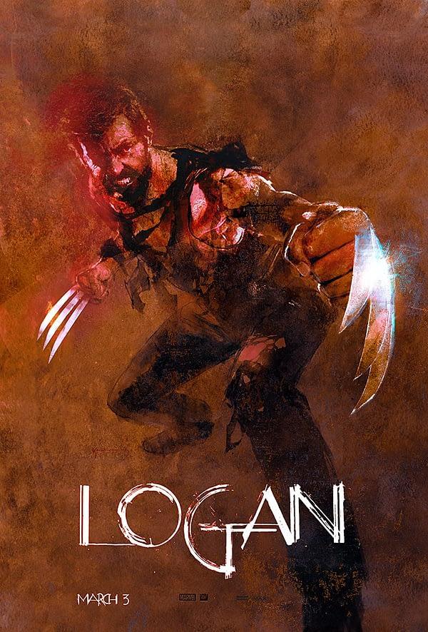 Bill Sienkiewicz Logan Poster