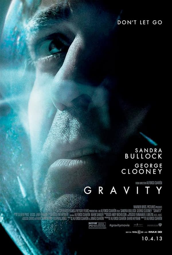 Gravity Poster George Clooney