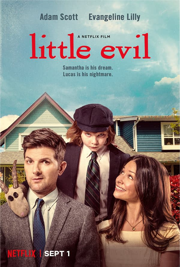 adam scott little evil netflix trailer