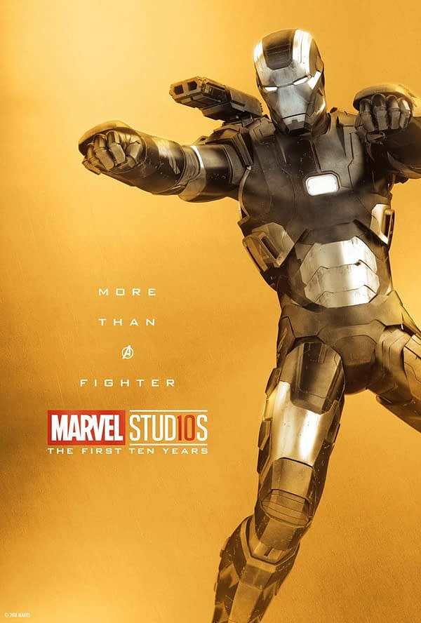 Marvel Studios More Than A Hero Poster Series War Machine