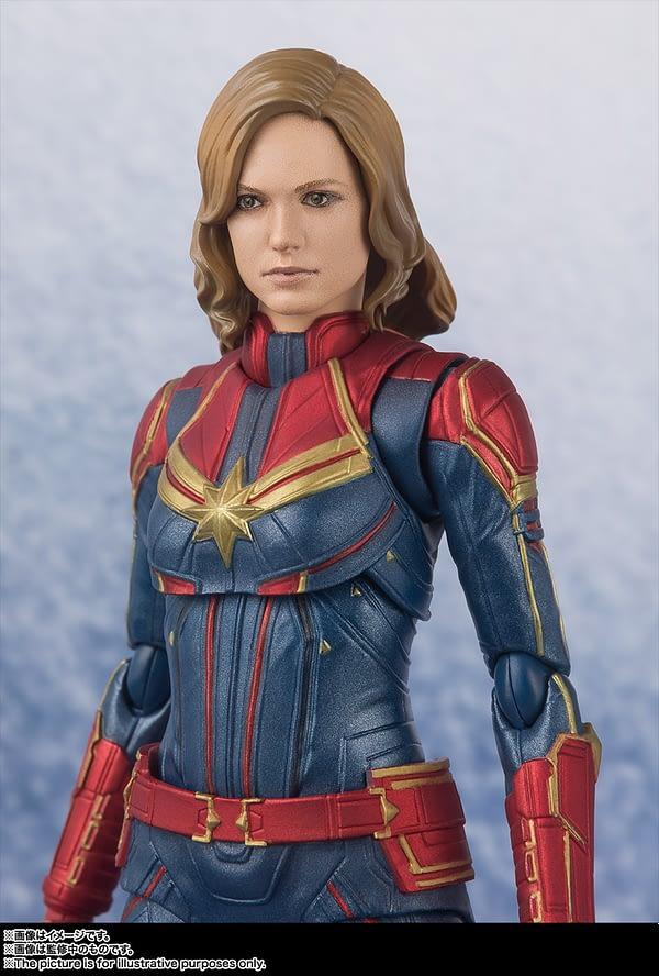 Sh Figuarts Captain Marvel 5